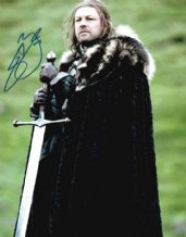 Sean Bean Autograph Signed Photo - Game Of Thrones